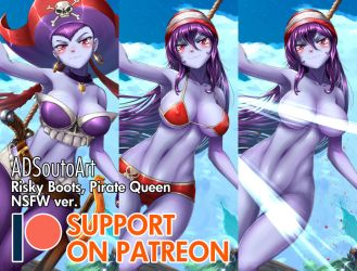 Risky Boots, Pirate Queen - Patreon by ADSouto