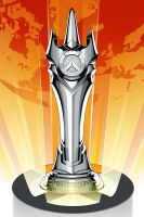Overwatch World Cup Trophy Poster by CrisVector