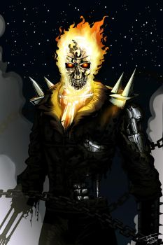 Ghost rider T-800 by JTSubconscious8