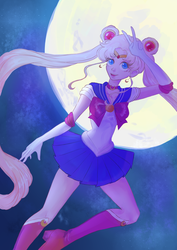 Fighting Evil by Moonlight by Rosyforest
