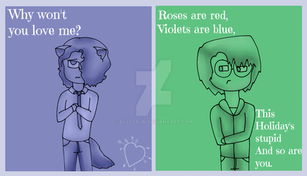 Vigilante Valentines Day Cards 2 by ElyssaJM