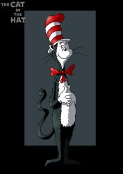 the cat in the hat by nightwing1975