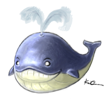 Kwahl the Whale by kaio89