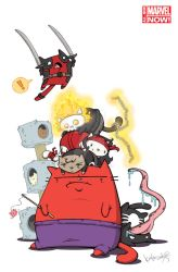 Thunderbolts-20.NOW-Katie-Cook-Animal-Variant by katiecandraw