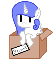Pony in a box #2 by rockythebunny13