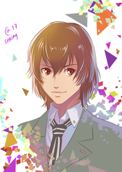 Goro Akechi by Autumn-Sacura