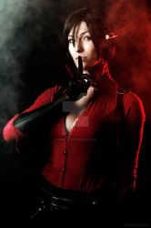 Ada Wong : ..Hush .. I'll take care of it.. by Mikela-Frost