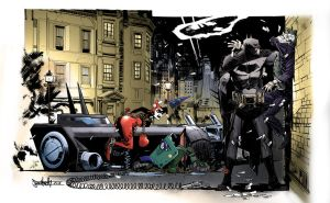 Batman commission by Sean Murphy, coloured by me! by patoftherick