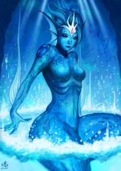 Goddess of Water by Ry-Spirit