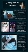 Commission Price Guide (OUTDATED) by Nightryx
