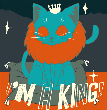 I'm a king! by zombiejam