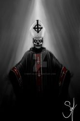 Papa Emeritus by Bert-Olof