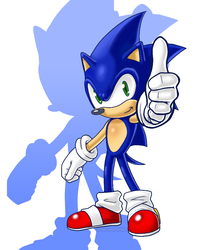Sonic the Hedgehog (2009) by spoonyliger