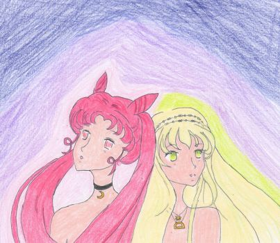 Usa and Psyche by cupcakedoll