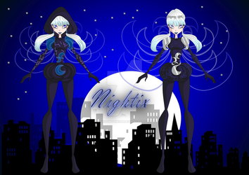 Edelene Nightix+Moonightix by xXSumthiniXx