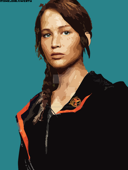 Katniss Everdeen by itsmejsrlqwerty