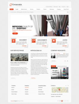Corporate Elegance Theme by sixthlife
