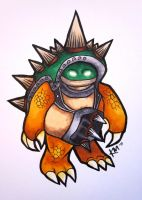 League of Legends: Rammus by Lily-P