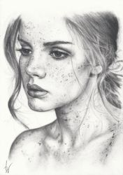 I don't want to draw freckles again by Nnusia