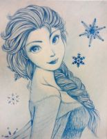 Elsa-Frozen by ChocoDips