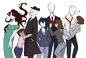 The slendergang (4 year anniversary) by SlenderGang