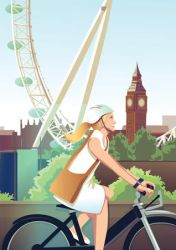 London By Cycle by ll