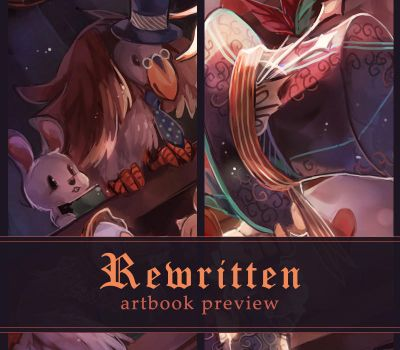 Rewritten artbook preview by anocurry