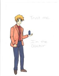 Doctor Who England hetalia by sures1109