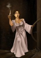 Candlestick by CloudlinerCorona