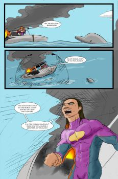 Super Clyde - Water Comic Page 6 Recolored by vytera