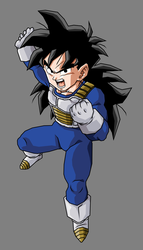 Pre Teen Gohan (Long Hair) by hsvhrt