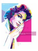Connie Francis - WPAP ART by @opparudy by opparudy