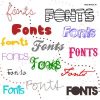 Fonts-Pack by CrazyForMusic