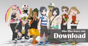 MMD Pokemon 2016 Pack1 DL by Jakkaeront