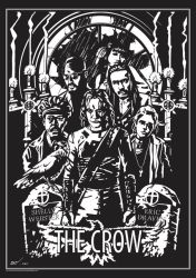 MOVIE POSTER 2 THE CROW by rekening