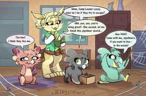 Bug Camp - Zipslimers by WowzaDawg
