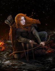 Ygritte by steamey