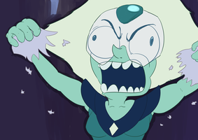 SU Screencap Redraw: Angry Peridot by baratus93