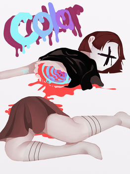 colorful bones by Lilixee