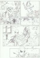 Red Hood page by timothygreenII