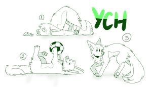 Another chibi canine batch auction ych [CLOSED] by KeuAdopts