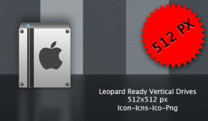 Leopard Ready Vertical Drive by neodesktop
