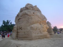 Burgas Sand Fest Artists Signs by berov