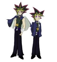 Yami and Yugi by Shykumori