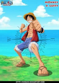 Monkey D. Luffy by donaco