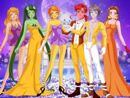 Leah and her pals as Senshis (pt11) by Amphitrite7