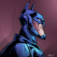 batman head by HEROBOY