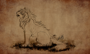 sketch commission by WhiteSpiritWolf
