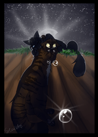 Crowfeather and Leafpool by WarriorCat3042