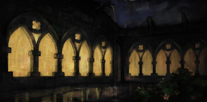Cloister by Cinvira